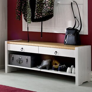 Hedley Solid Wood Storage Bench By Beachcrest Home