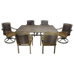 Darby Home Co Darcey Dining Set with Cushions