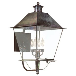 Compare Theodore 4-Light Outdoor Sconce By Darby Home Co
