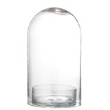 Large Gl Cloche With Base Wayfair