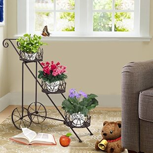 Reviews Eccleshall Multi-Tiered Etagere Plant Stand By Fleur De Lis Living