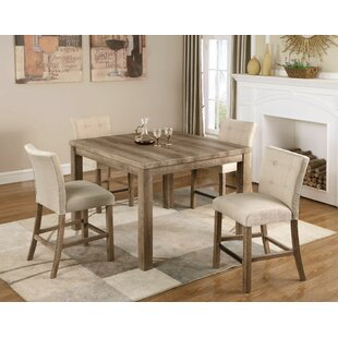 Price comparison Crewellwalk 5 Piece Counter Height Dining Set By Ophelia & Co.