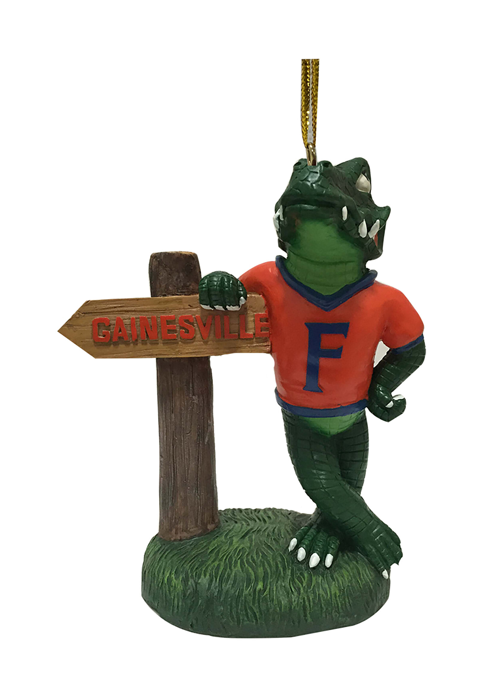 Oxbay By Seasons Designs Ncaa Florida Resin Mascot Wit Hanging Figurine Ornament Wayfair