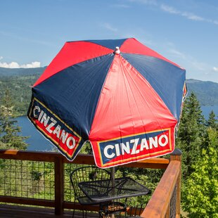 Parasol Cinzano 6' Drape Umbrella