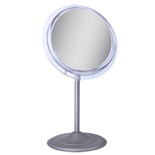 Reviews Surround Light Vanity Mirror with 5X Magnification By Zadro