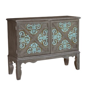 Hartnett Traditional Decorative Boot Uppers Inspired 2 Doors Accent Bar Cabinet by Ophelia & Co.