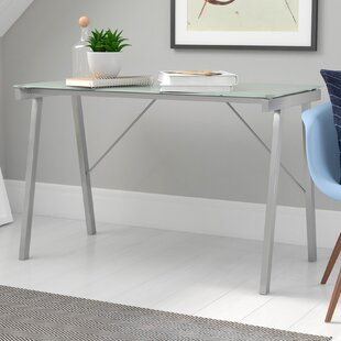 Douglasville Glass Writing Desk