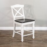 Towerside Solid Wood 24 Counter Stool by One Allium Way®