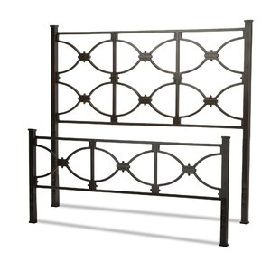 Darby Home Co Cort Open-Frame Headboard and Footboard