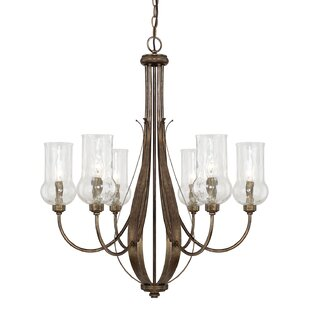 Astoria Grand Lea 6-Light Shaded Chandelier