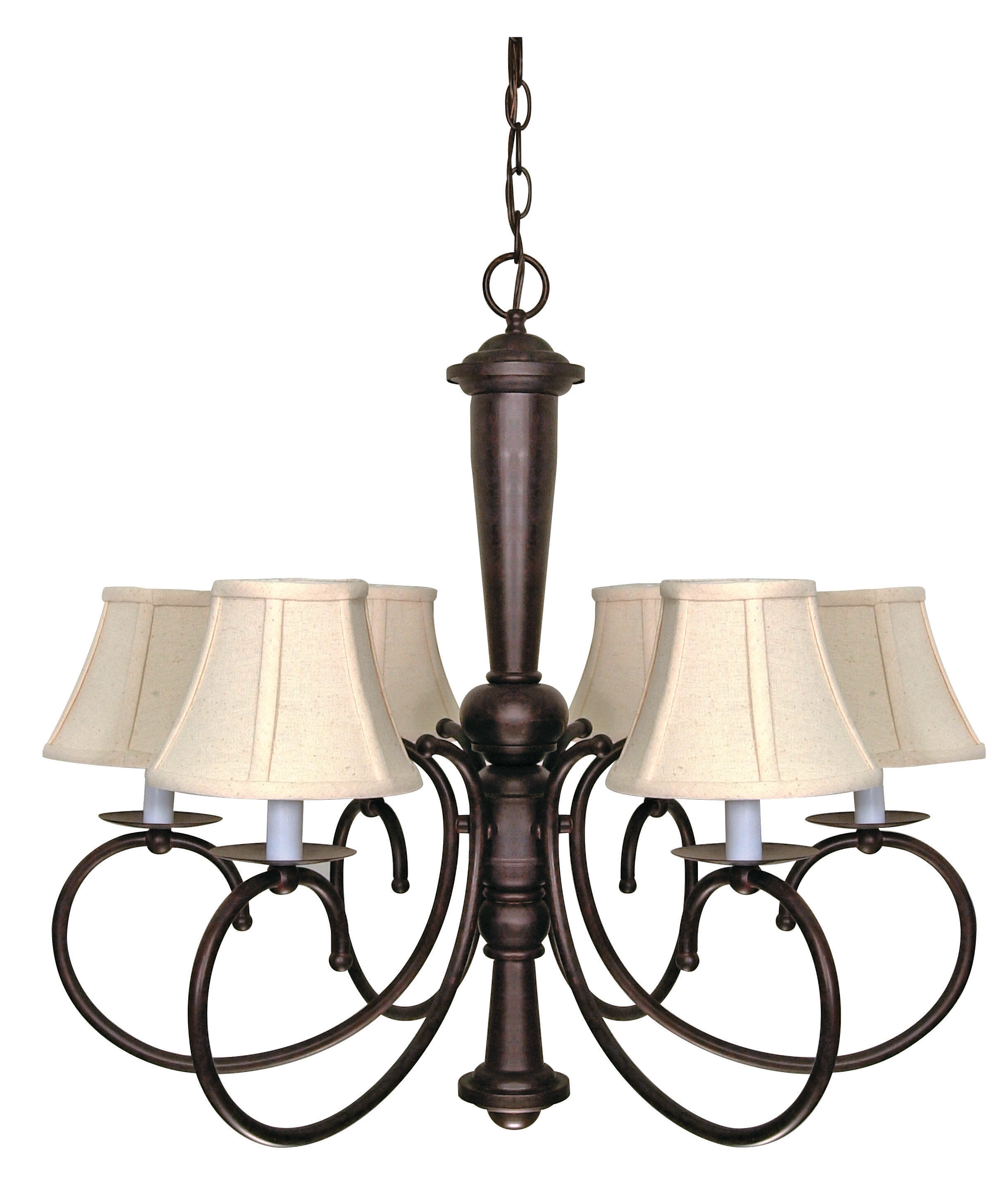 Fleur De Lis Living Jami 6 Light Shaded Classic Traditional Chandelier Reviews Wayfair