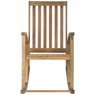 Bross Teak Rocking Chair