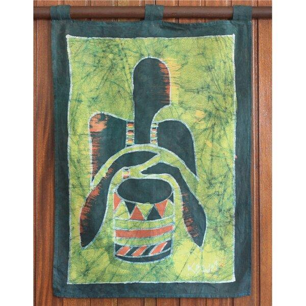 World Menagerie African Drum Batik Tapestry Wayfair