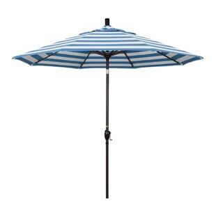 Striped Patio Umbrellas You Ll Love Wayfair