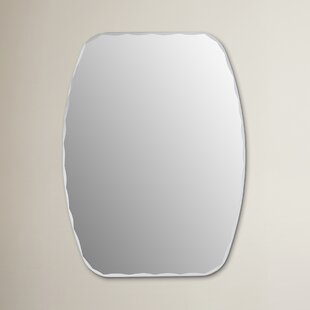 Logan Frameless Wall Mirror by Wrought Studio