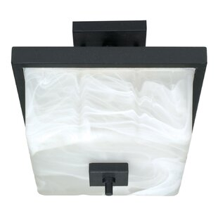 Burkitt 2-Light Semi Flush Mount by Latitude Run