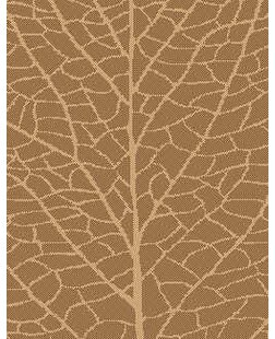 Brown/Natural Indoor/Outdoor Reversible Area Rug