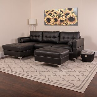 Brayden Studio Ballera Sectional with Ott..