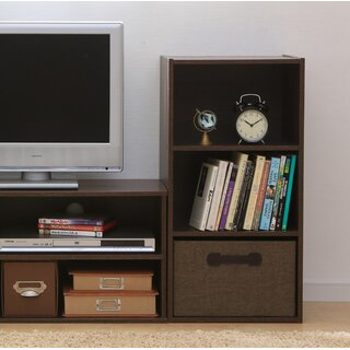 Waku Series 3 Standard Bookcase by IRIS USA, Inc. SKU:BC450419 Price Compare