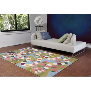 Raymond Fun and Sweets Hand-Tufted Multicolor Indoor/Outdoor Area Rug