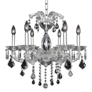 Allegri by Kalco Lighting Giordano 6-Light Candle Style Chandelier