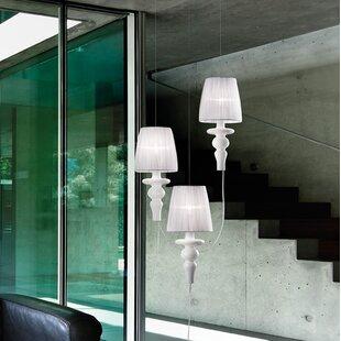 Gadora Chic 3-Light Cluster Pendant by Evi Style
