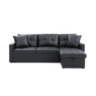 Best Reviews Clarke Sleeper Sectional by Ebern Designs Reviews (2019) & Buyer's Guide