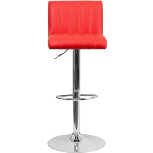 Adjustable Height Swivel Bar Stool by Offex