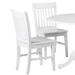 Spiller Solid Wood Dining Chair (Set of 2)