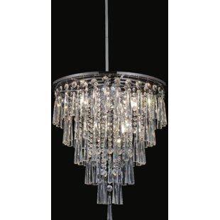 8-Light Chandelier by CWI Lighting