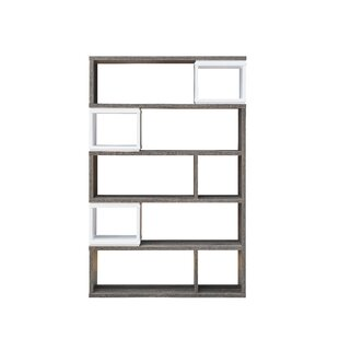 Lefker Geometric Bookcase