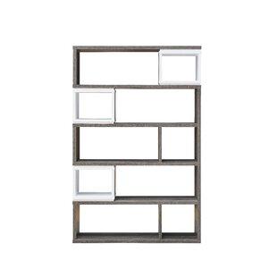 Lefker Geometric Bookcase