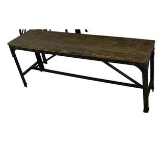 Williston Forge Annabelle Wood Bench