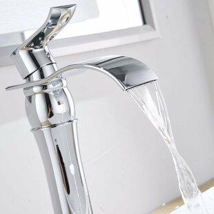 Aquafaucet DFI Waterfall Vessel Sink Bathroom Faucet
