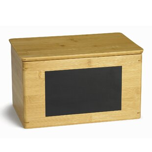 Best Choices Rectangular Write-on Solid Wood Storage Box By Tablecraft