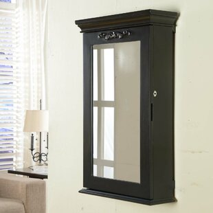 Wildon Home ® Morris Wall Mounted Jewelry Armoire