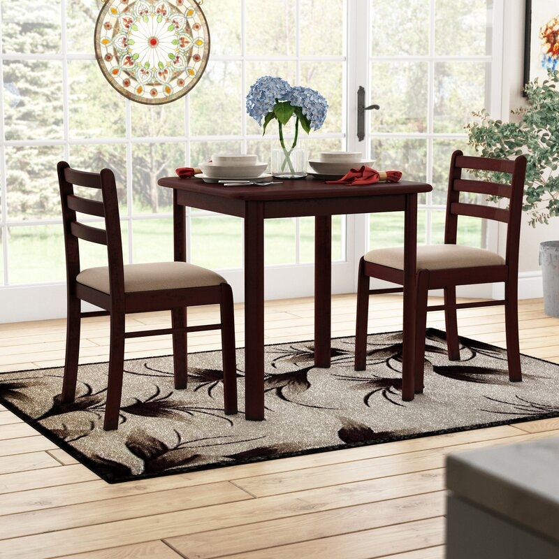 Bistro Table Set 3 Piece Dining For 2 Furniture Kitchen Coffee Small Space SALE