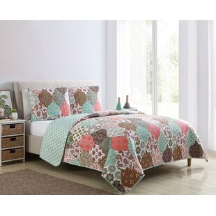 Ensor Reversible Quilt Set by Bungalow Rose Design