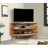 Laurine Solid Wood Corner TV Stand for TVs up to 42 by Foundry Select