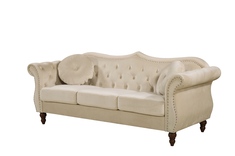 Picture of: Tufted Velvet Sofas You Ll Love In 2020 Wayfair