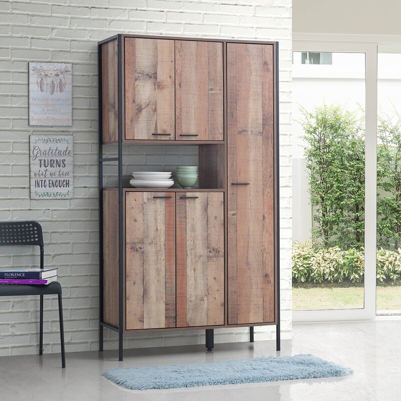 Bodgers Kitchen Pantry Display Cabinet