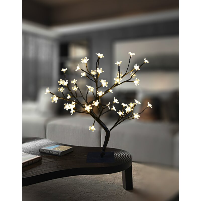 The Holiday Aisle Cherry Blossom Bonsai Trees Branches Reviews Wayfair