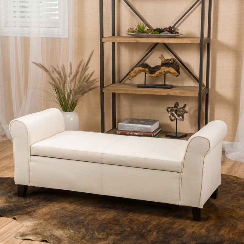 storage bench for living room. Varian Upholstered Storage Bench Alcott Hill  Reviews Wayfair