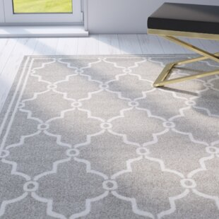 Wason Dark Gray/Beige Indoor/Outdoor Area Rug
