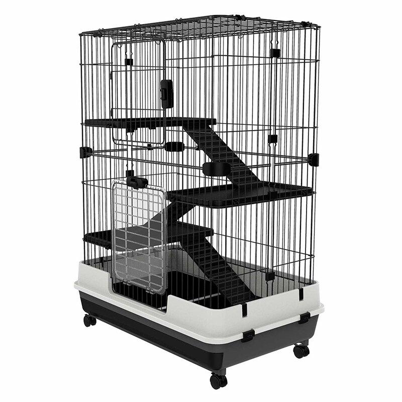 Cadiz 4 Level Indoor Small Animal Cage