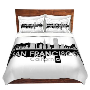 East Urban Home City IV San Francisco California Duvet Set