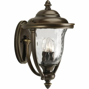 Triplehorn 3-Light Sconce By Alcott Hill Outdoor Lighting