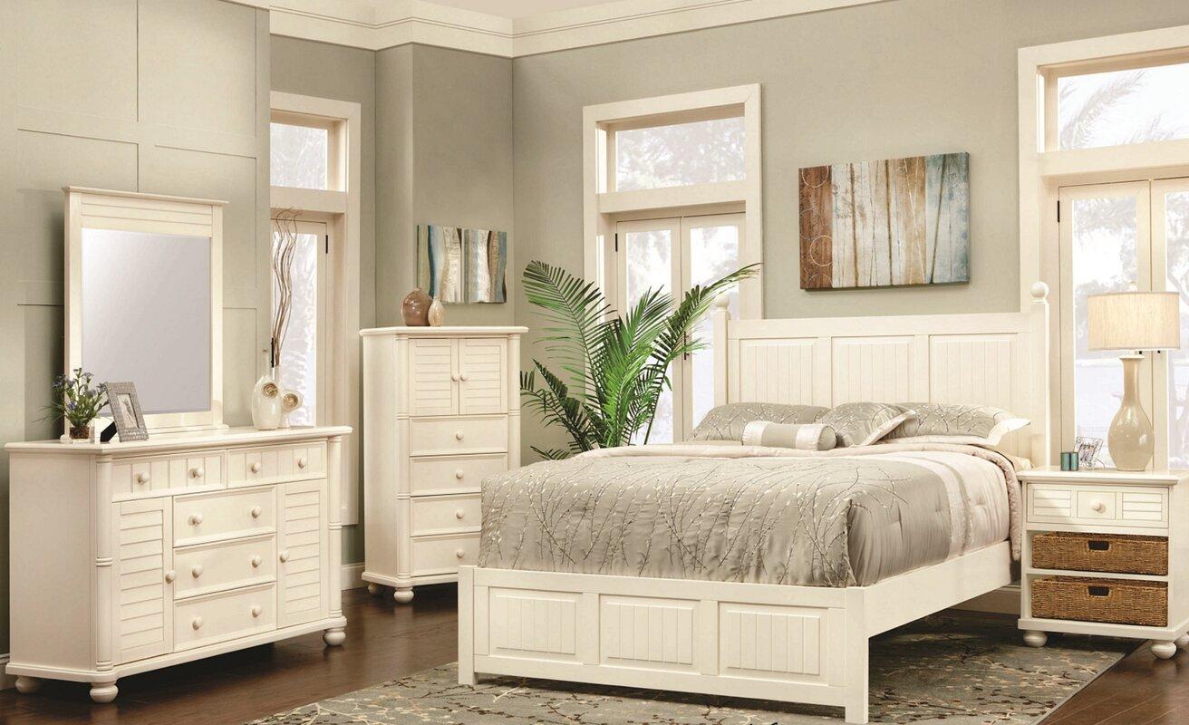 Coutee Queen Panel 5 Piece Bedroom Set
