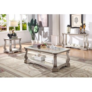 Forsyth 3 Piece Coffee Table Set