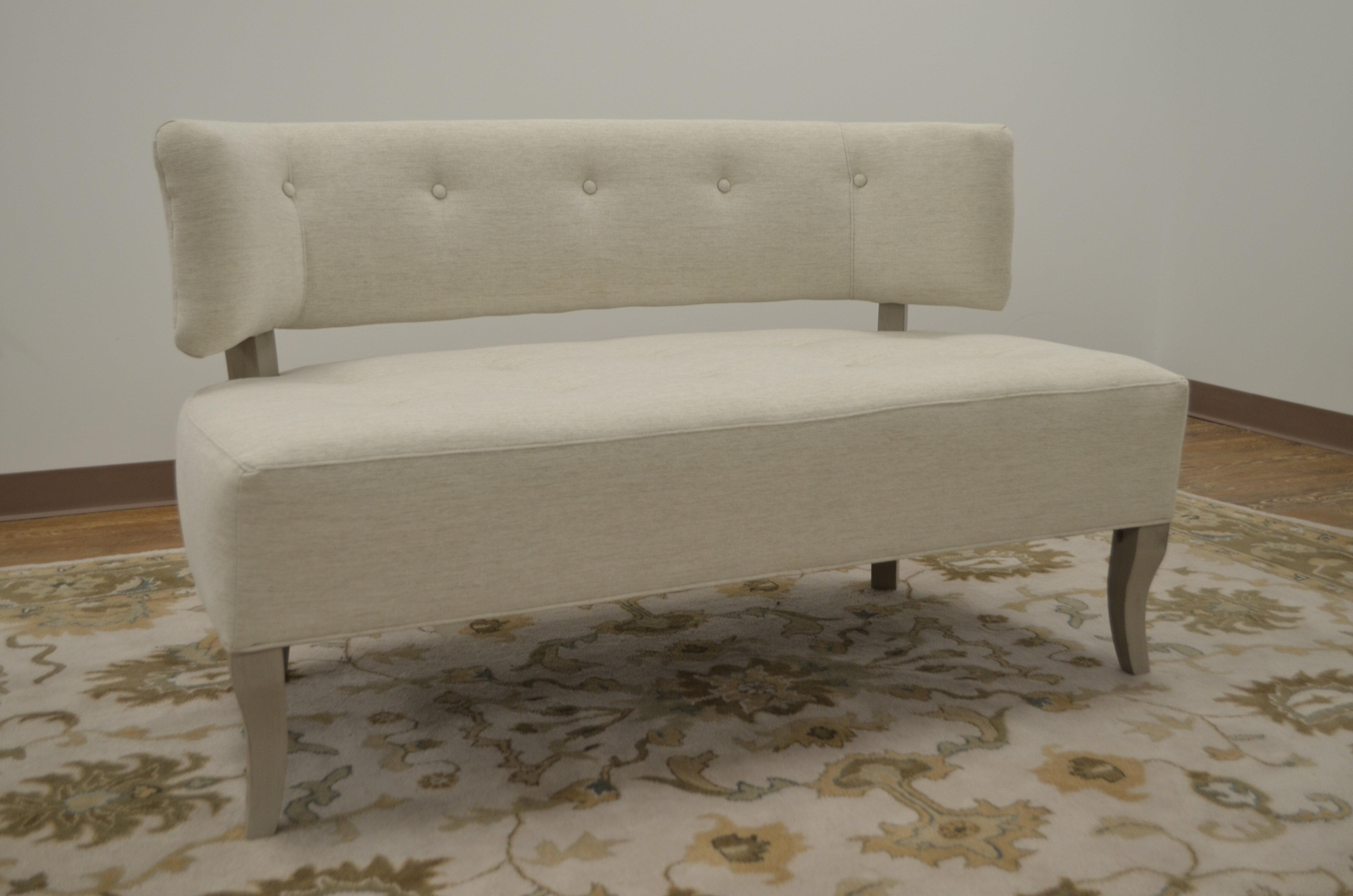 Rachael Ray Home Settee Upholstered Bedroom Bench   Wayfair